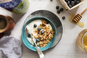 Go Nuts Granola by True North Granola is loaded with healthy nuts and seeds.