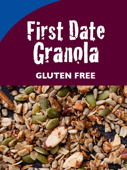 First Date Granola label