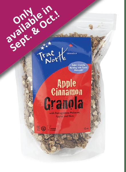 Apple Cinnamon Granola Healthy Granola True North Granola