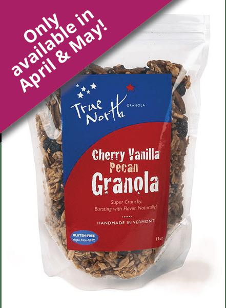 Cherry Vanilla Pecan Granola