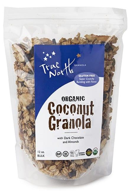 Coconut Granola with Chocolate | Organic | True North Granola
