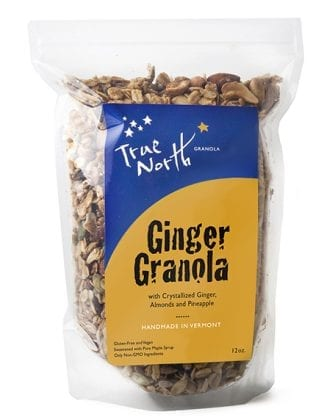 GINGER GLUTEN-FREE GRANOLA