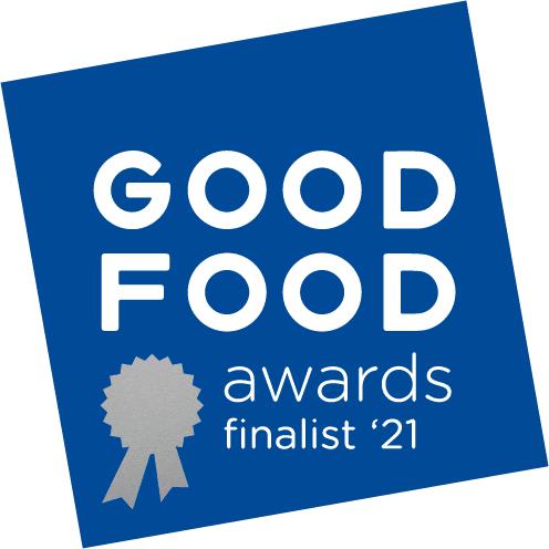 Good Food Awards Finalist logo