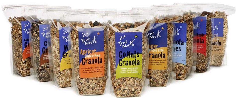 True North Granola Flavors