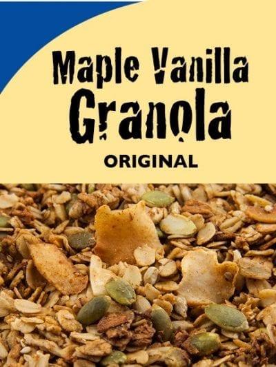 Maple Vanilla Granola