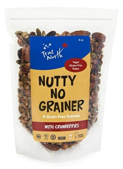 Nutty No Grainer with Cranberries 8oz