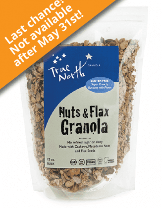 Nuts and Flax Granola