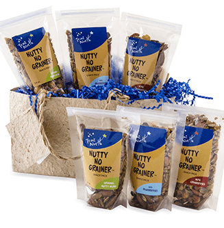 Nutty No Grainer Sampler Gift Bag