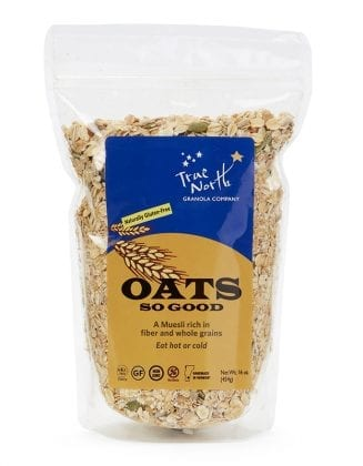 Oat So Good Gluten Free package front