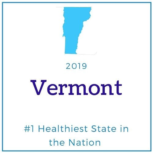VT healthiest state in nation