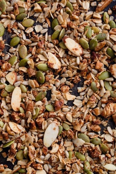 first date high protein low sugar granola