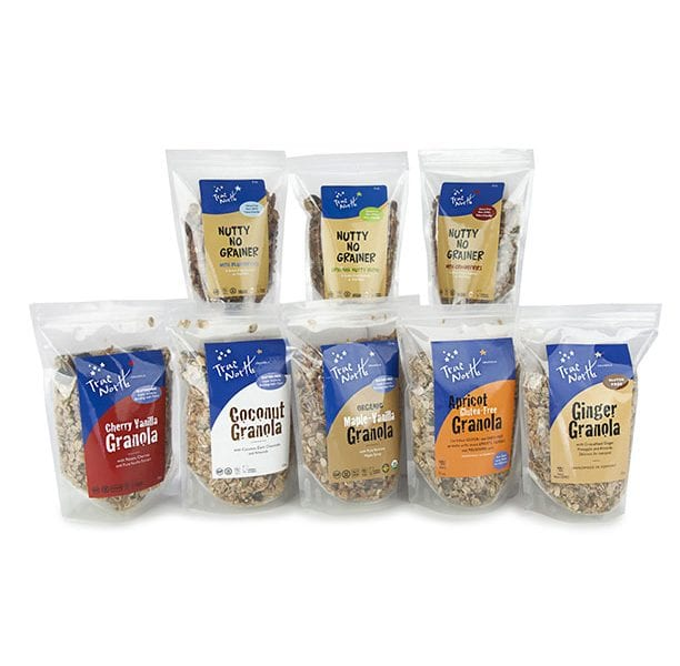 Bags of gluten-free TNG