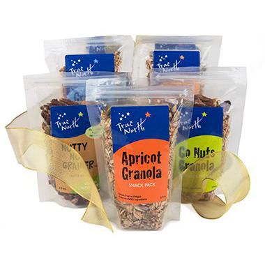 True North's granola wedding favors