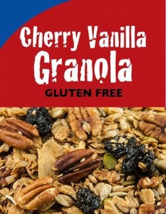 Cherry Vanilla Granola - Gluten-Free