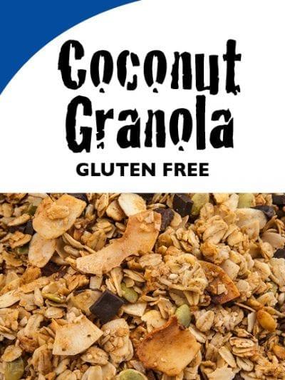 Coconut Granola - Gluten-Free