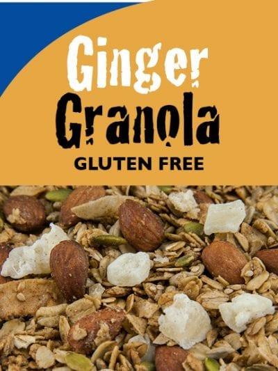 Ginger Granola - Gluten-Free