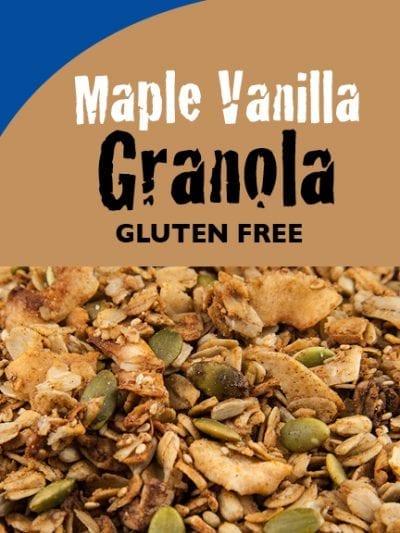 Maple Vanilla Granola - Gluten-Free