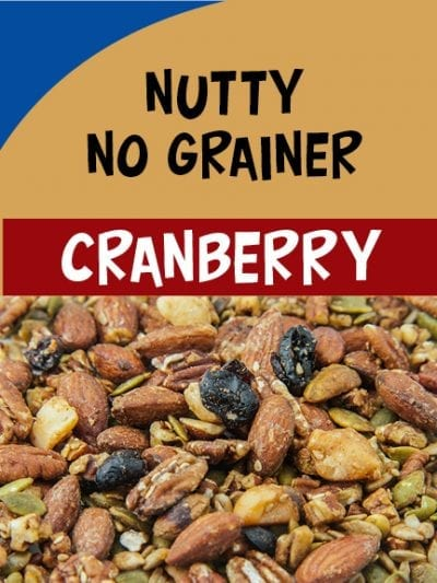 Nutty No Grainer Cranberry