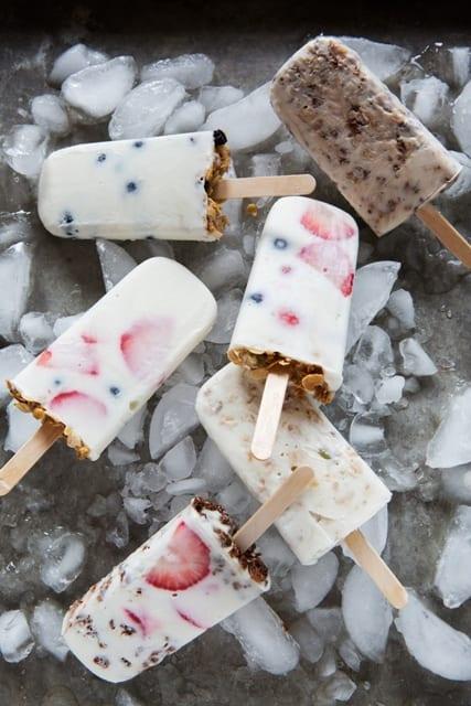 Yogurt-Granola Pops